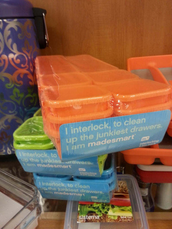 storage compartments for #organizing