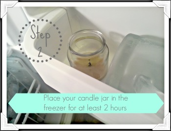 candle jar step two