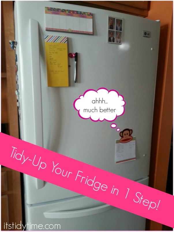 Tidy up your fridge using one easy trick - really easy.