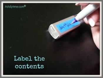label usb contents