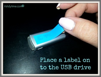 label usb drives