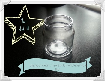repurpose candle DONE