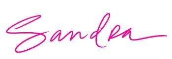 sandra signature pink