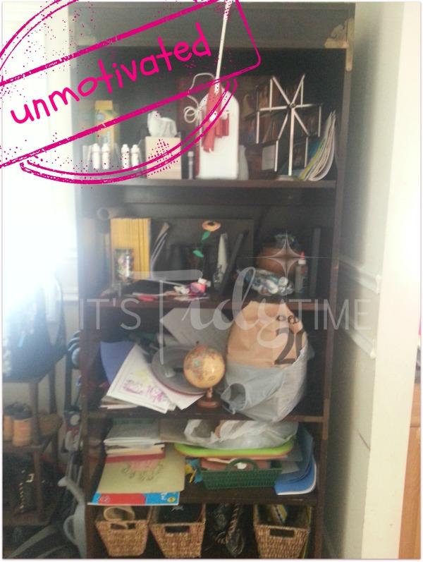 Before Unmovitated organization