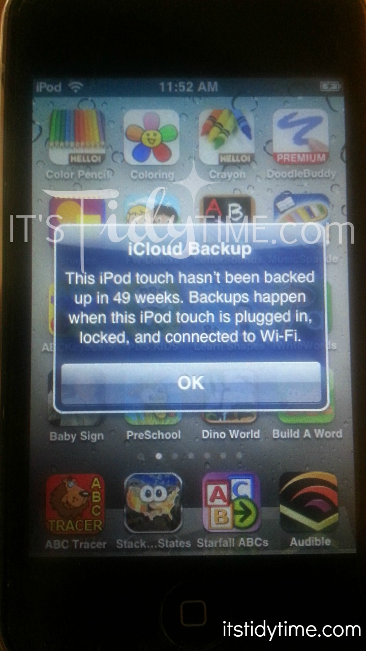 Lost iPod, FOUND!