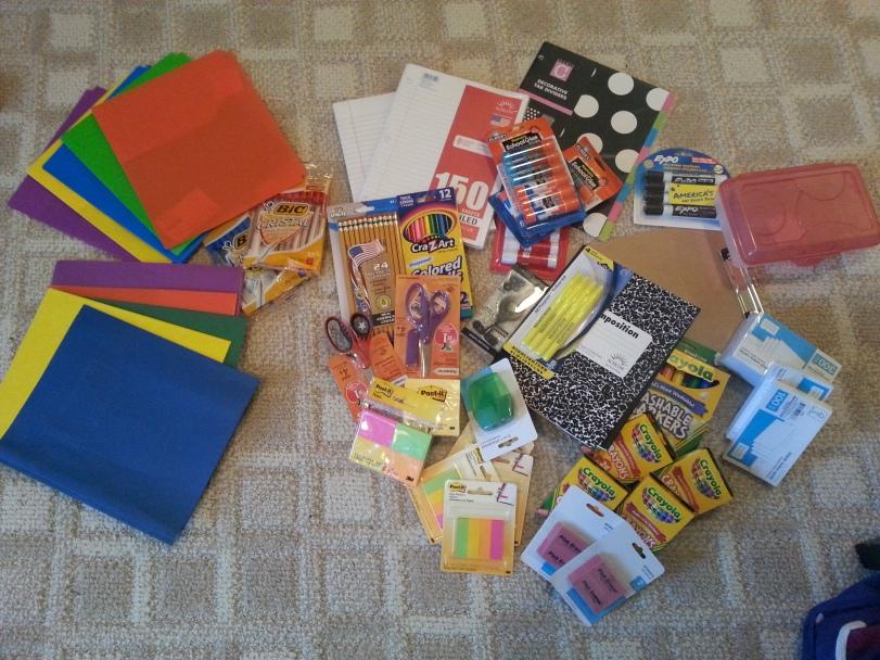 SchoolSupplies #organized