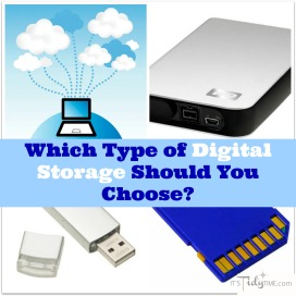 which type of digital storage