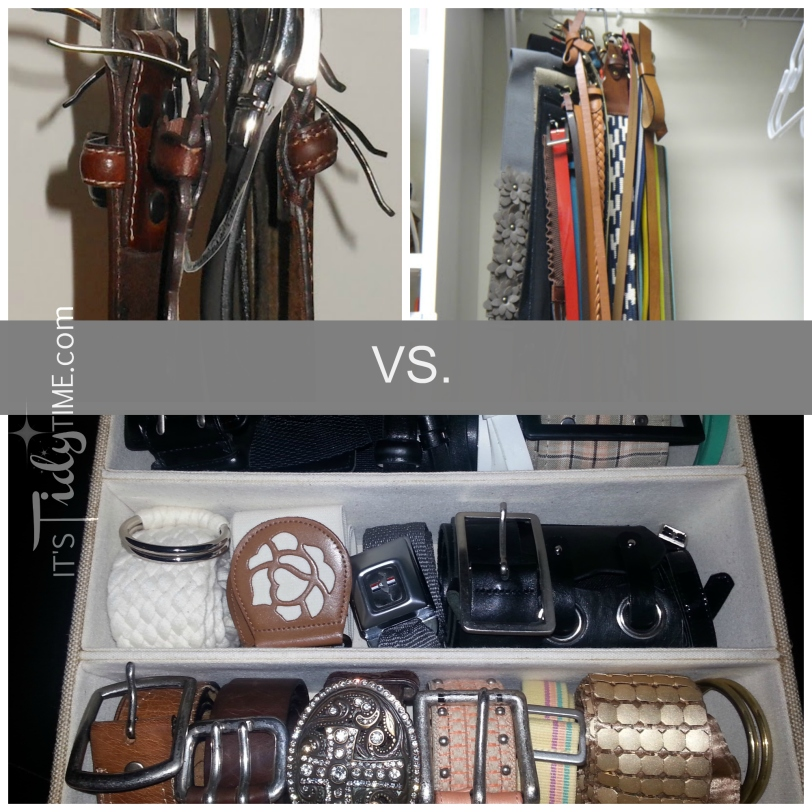 organized belts