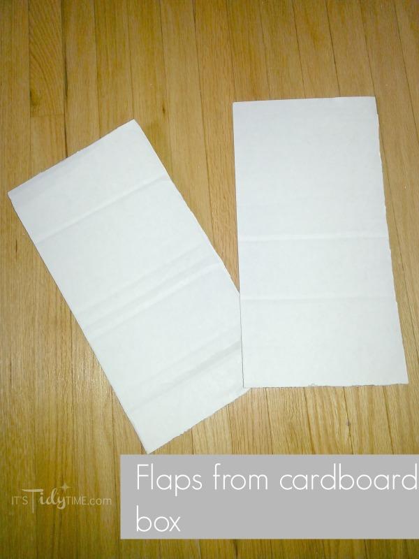 cardboard box flaps