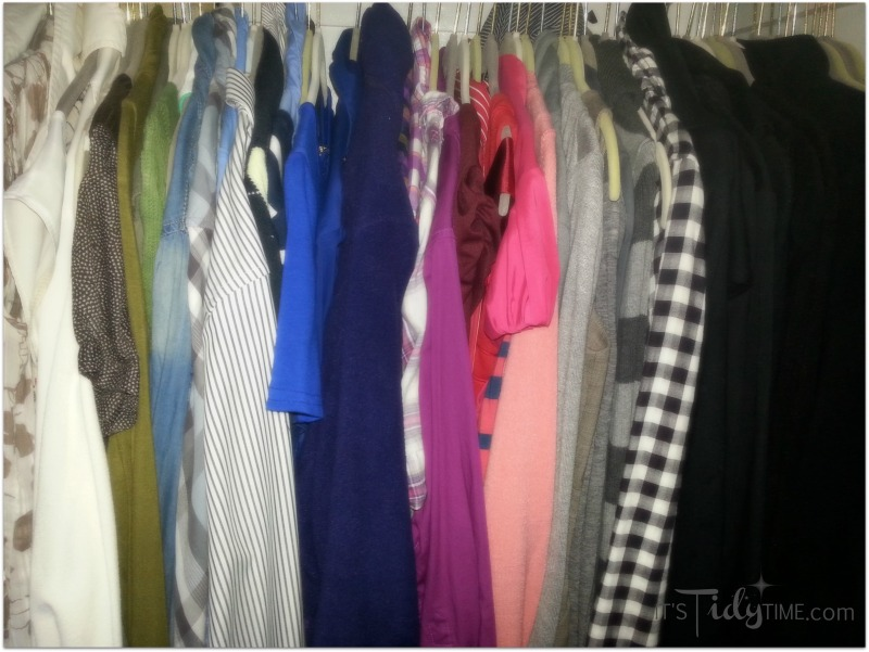 color code your closet