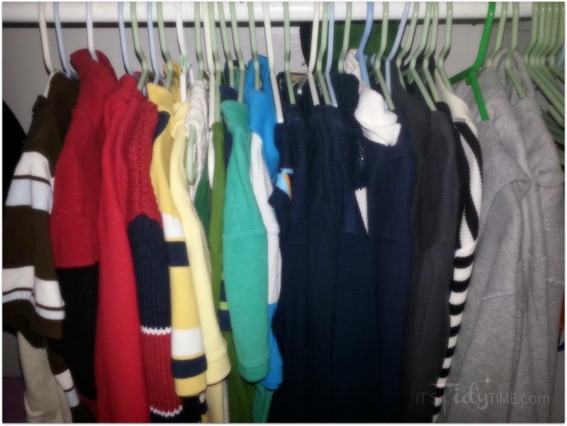 My son's closet
