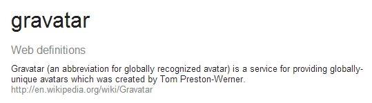 gravatar definition