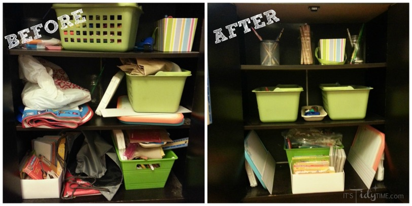 Before and After Kid Cupboard