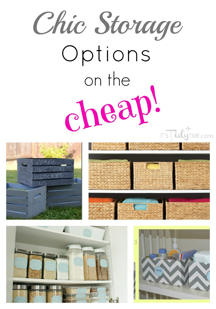 chic storage options