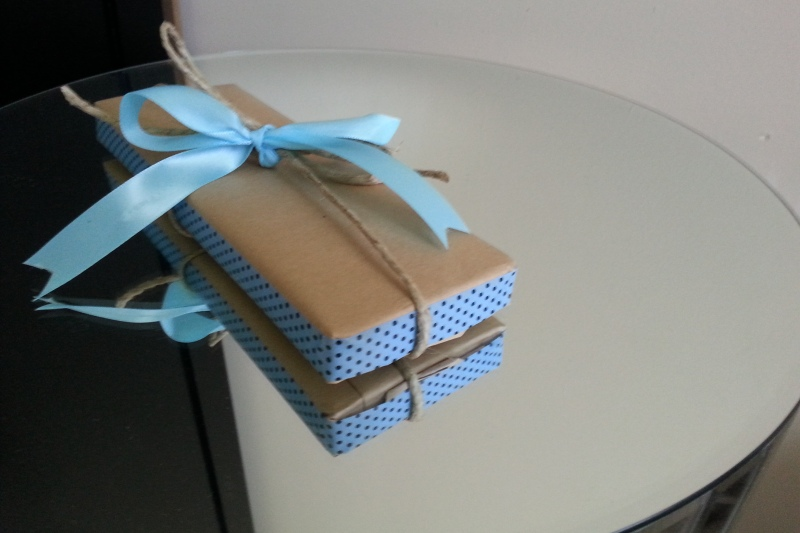 washi and paper wrapping