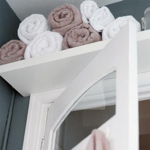 More Above Bathroom Door Storage
