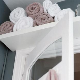 More Above Bathroom Door Storage