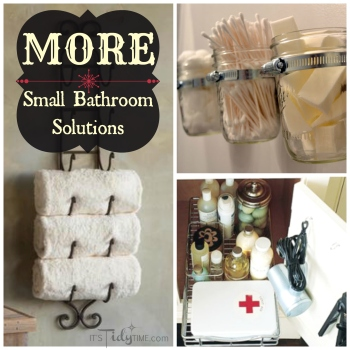 More Small Bathroom Solutions