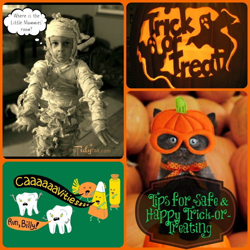 Tips for Safe & Happy Trick-or-Treating