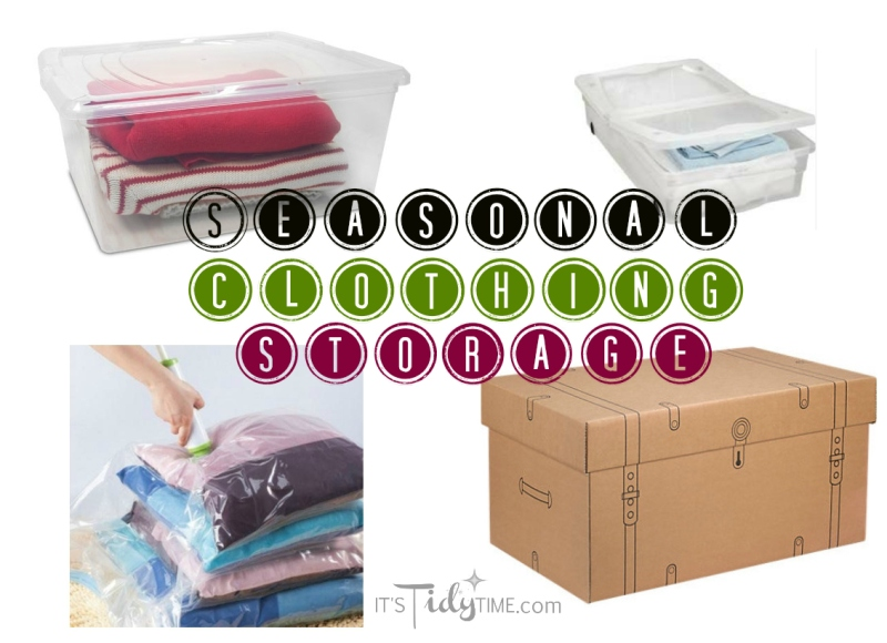 Seasonal Clothing Storage and Donations