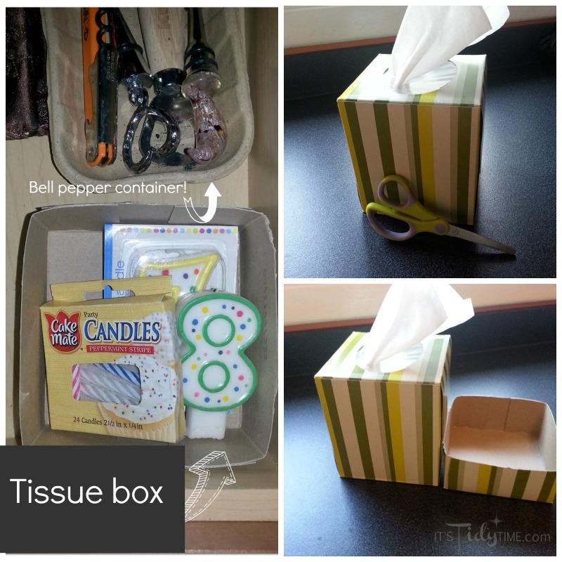 tissue box collage
