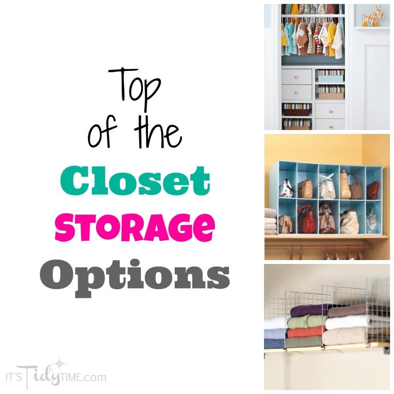 top of the closet