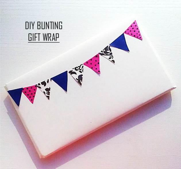 bunting diy gift