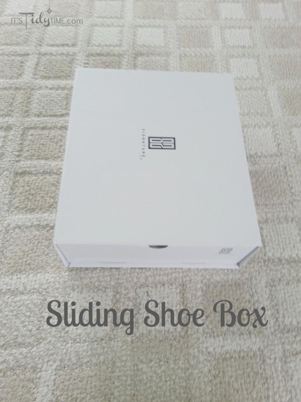 sliding shoe box