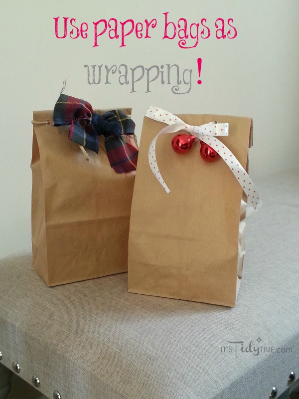use paper bags