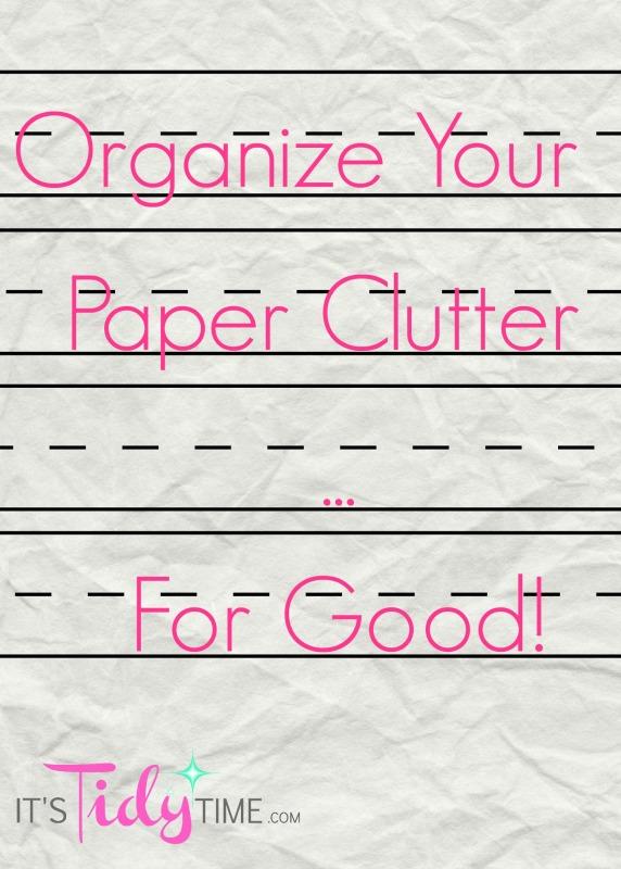 organize paper graphic