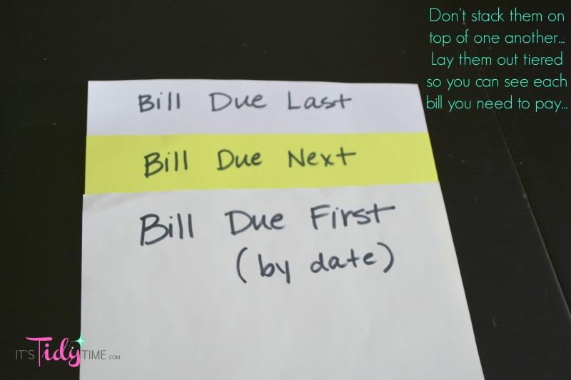 tier stack your bills