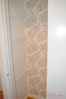 contact paper closet
