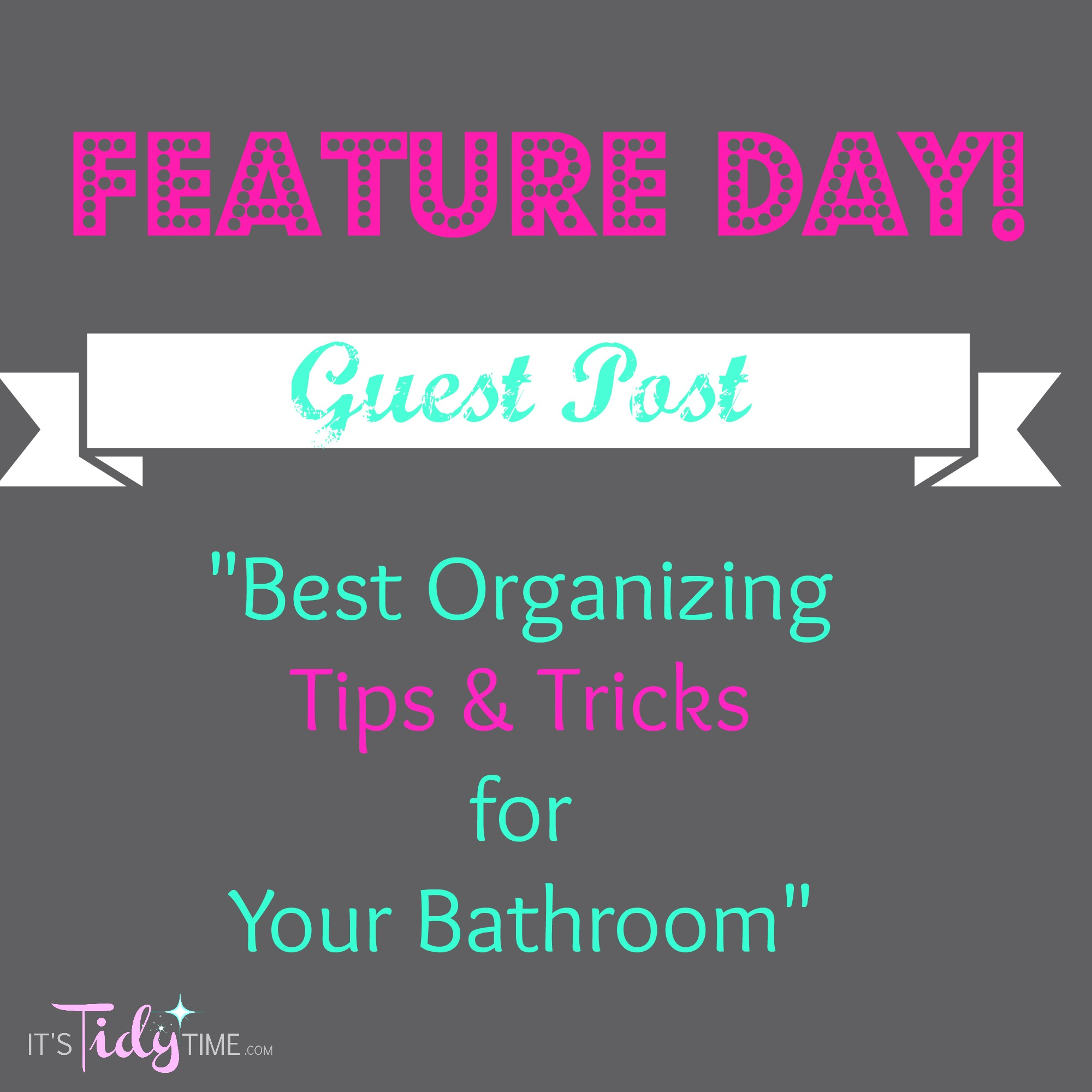 Best Organizing Tips Tricks For Your Bathroom It 39 S Tidy Time