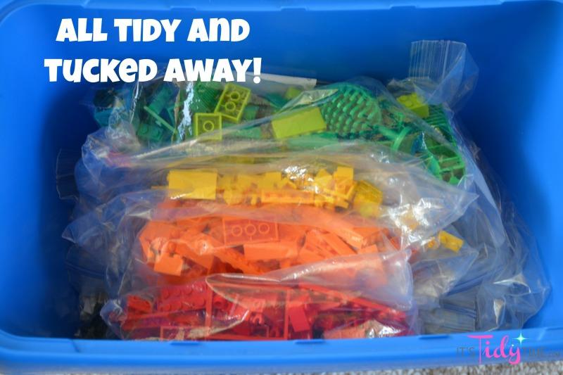 tidy tucked away